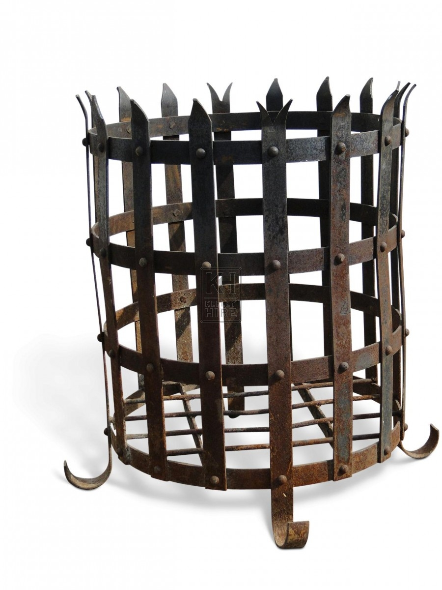 Large Spiked Brazier