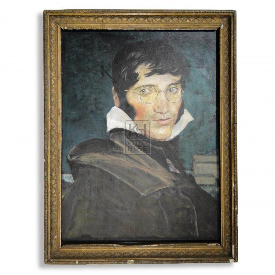 Framed Portrait Painting