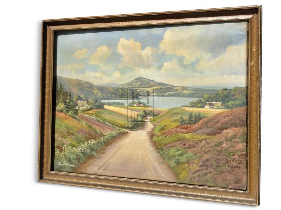 Large Landscape Oil Painting #2