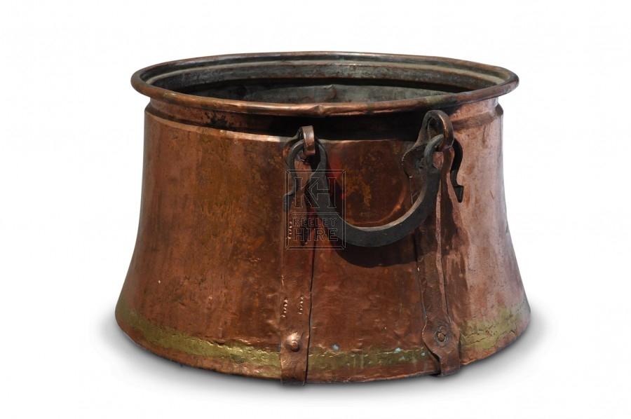 Large Copper Cauldron #2