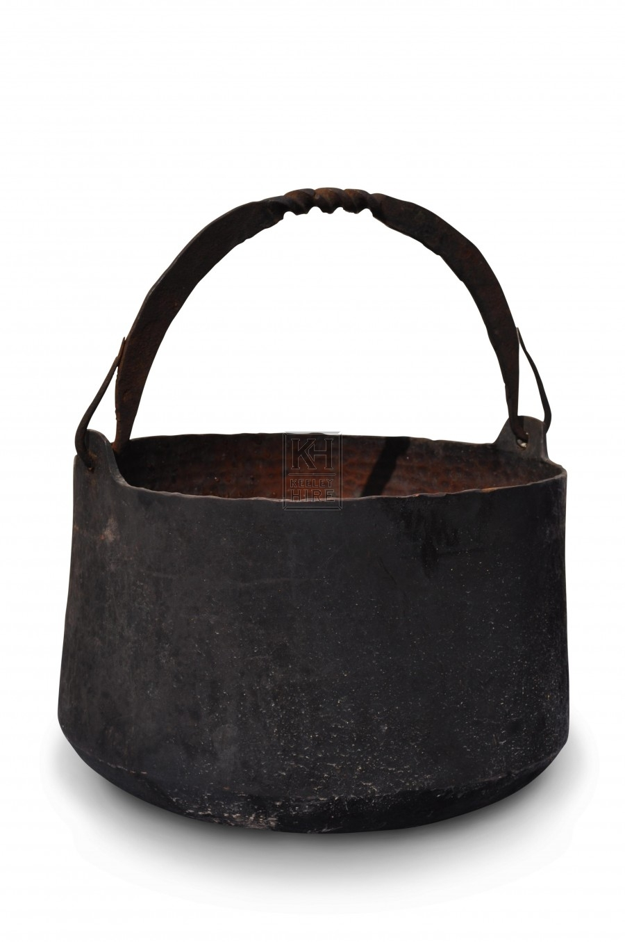 Assorted Iron Cooking Pots
