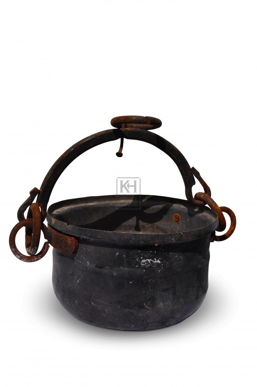 Iron Cooking Pot with hanging ring