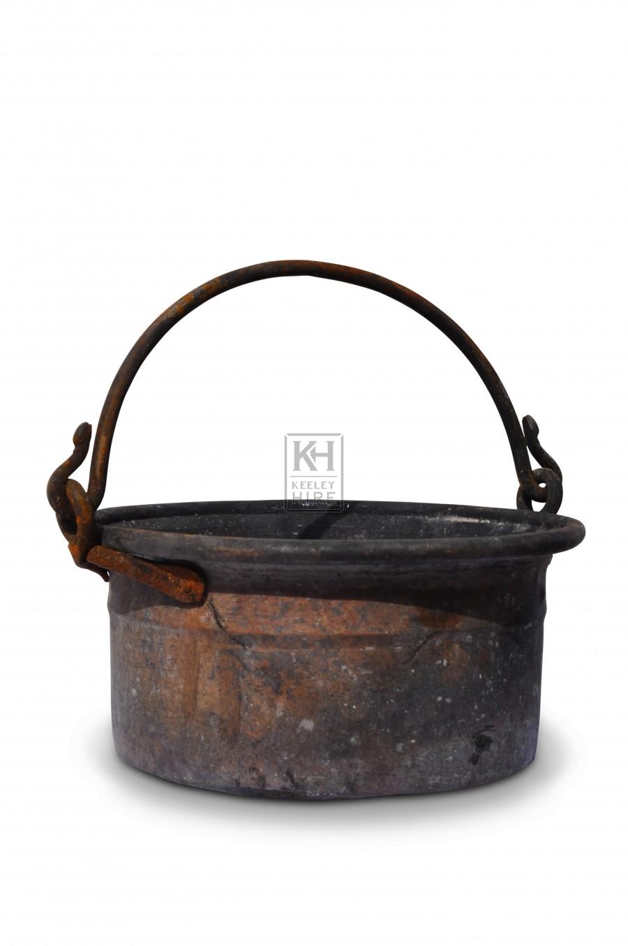 Shallow Cooking Pot