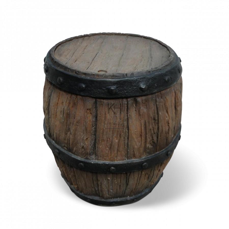 Resin barrel