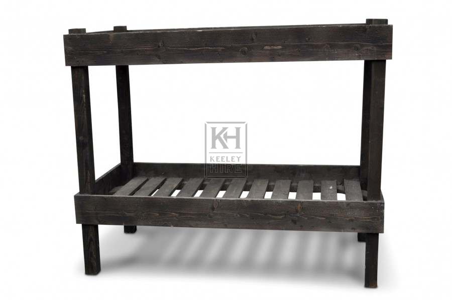 Wooden Bunk Bed - 2 single beds