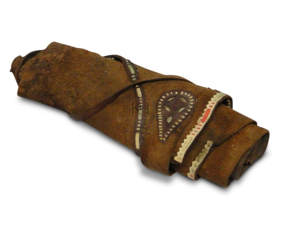 Leather Document Roll