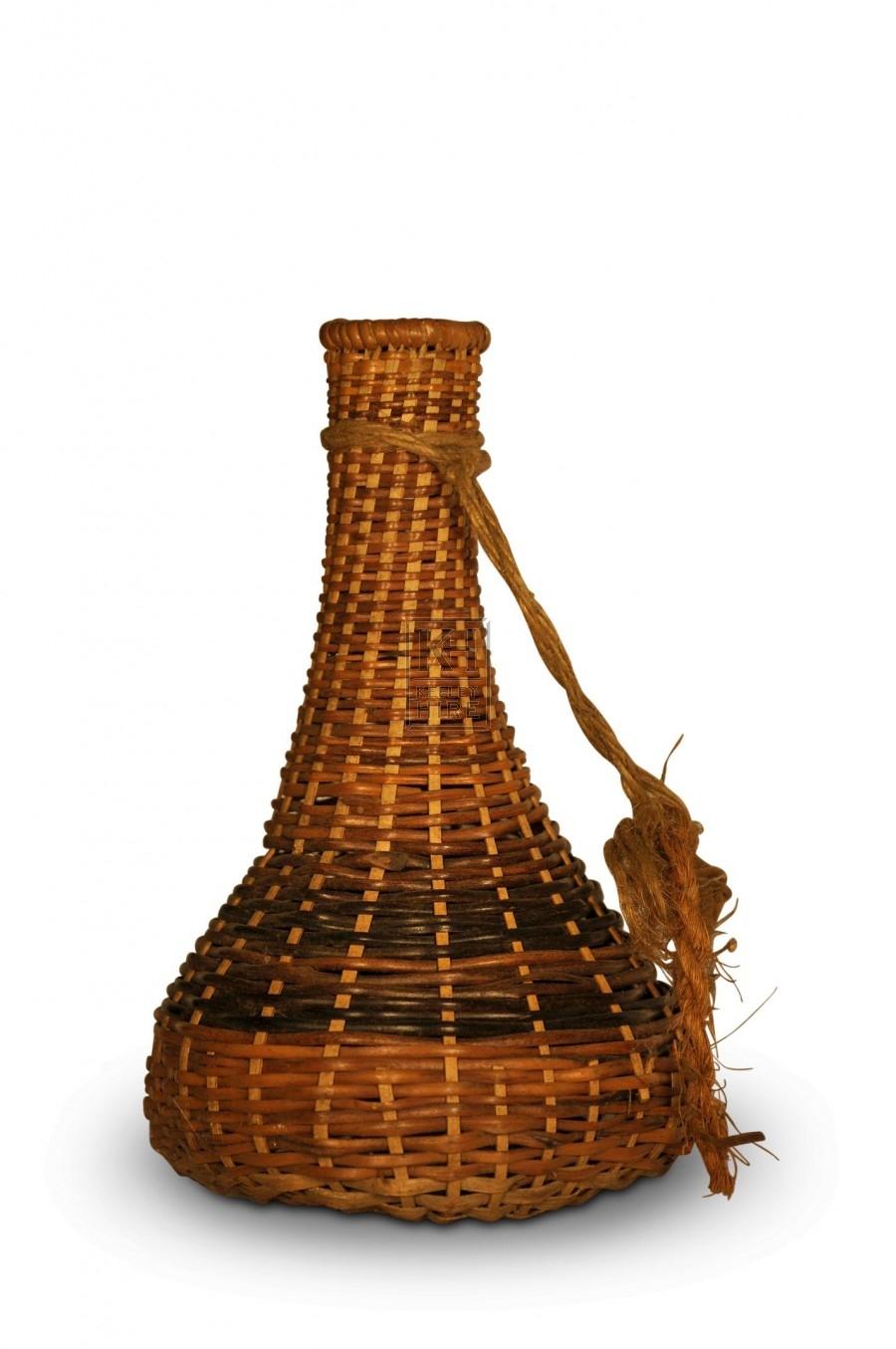 Small Wicker Vase