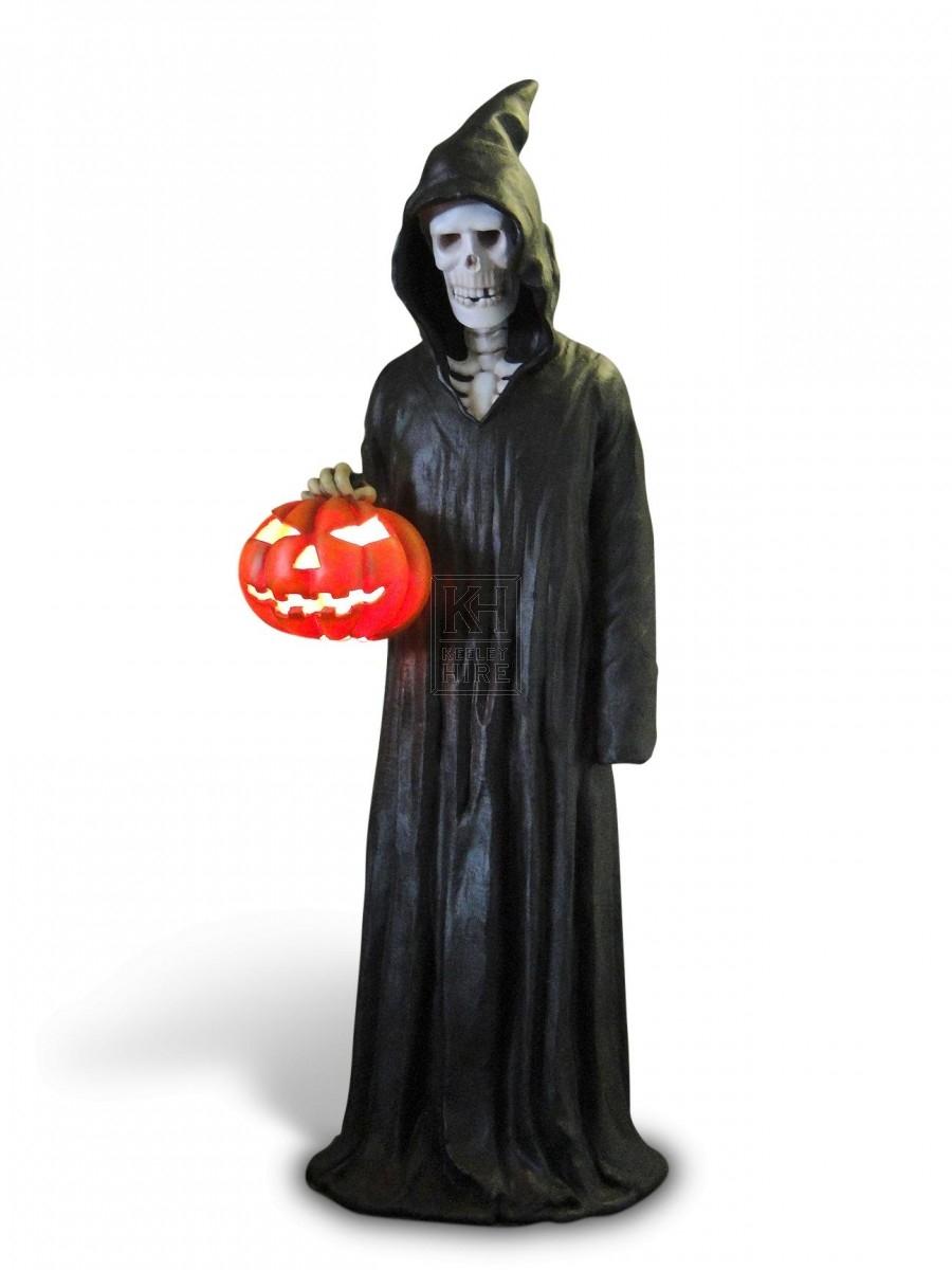 Soul Taker with Pumpkin Lantern