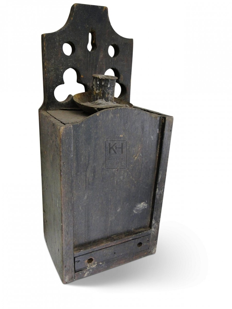 Candle Box with Holder