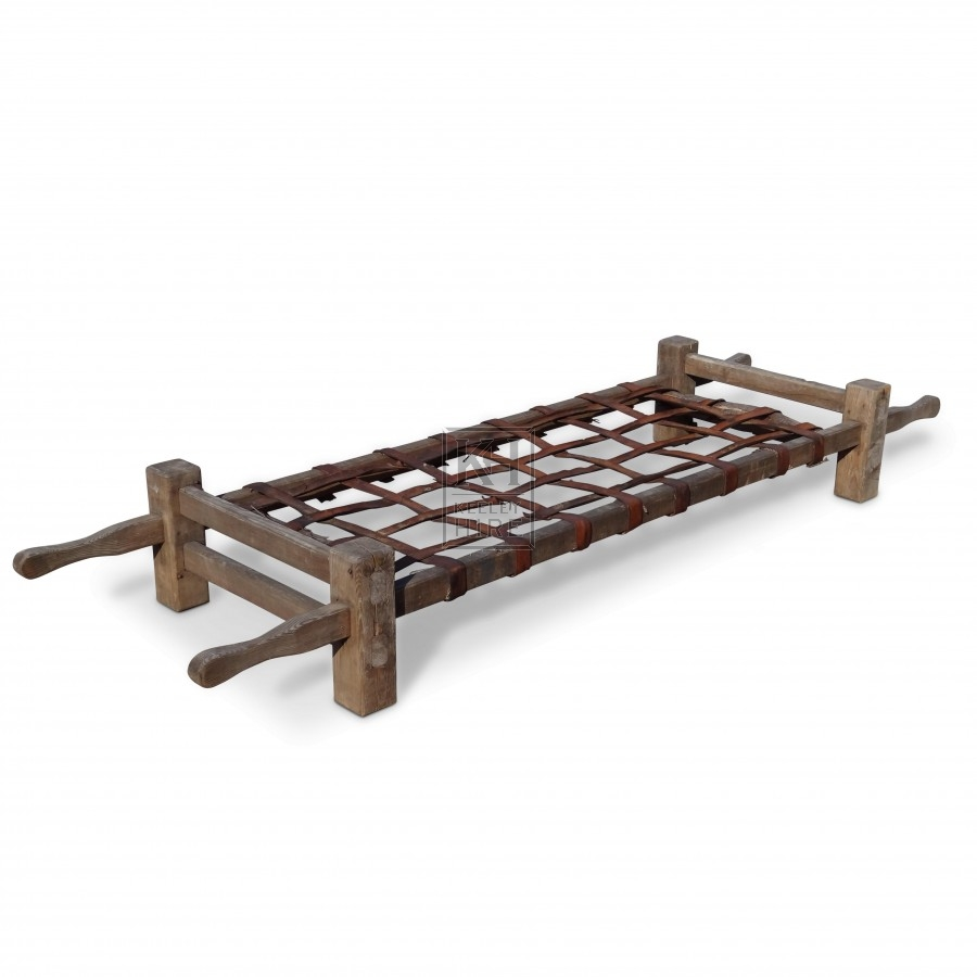 Wooden Stretcher Bed