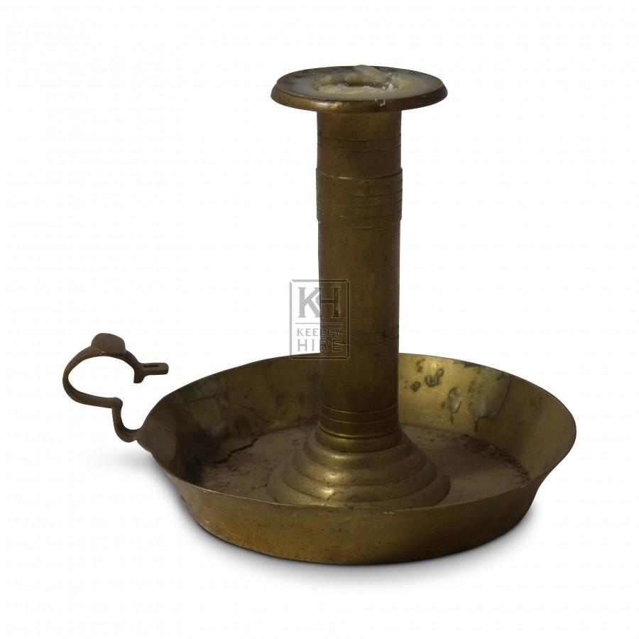 Brass Candleholder #8