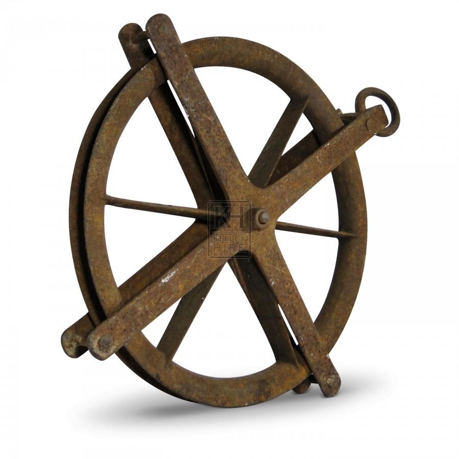 Iron Pulley Wheel