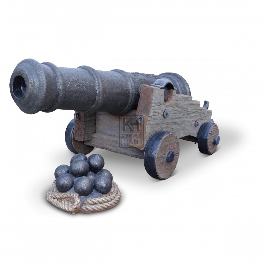 Cannon And Cannon Balls