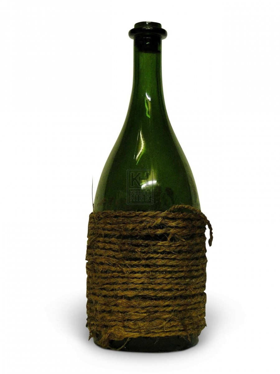 String Wrapped Glass Bottle