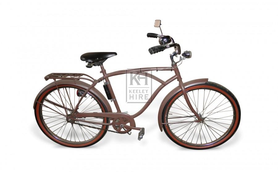 Brown Bicycle