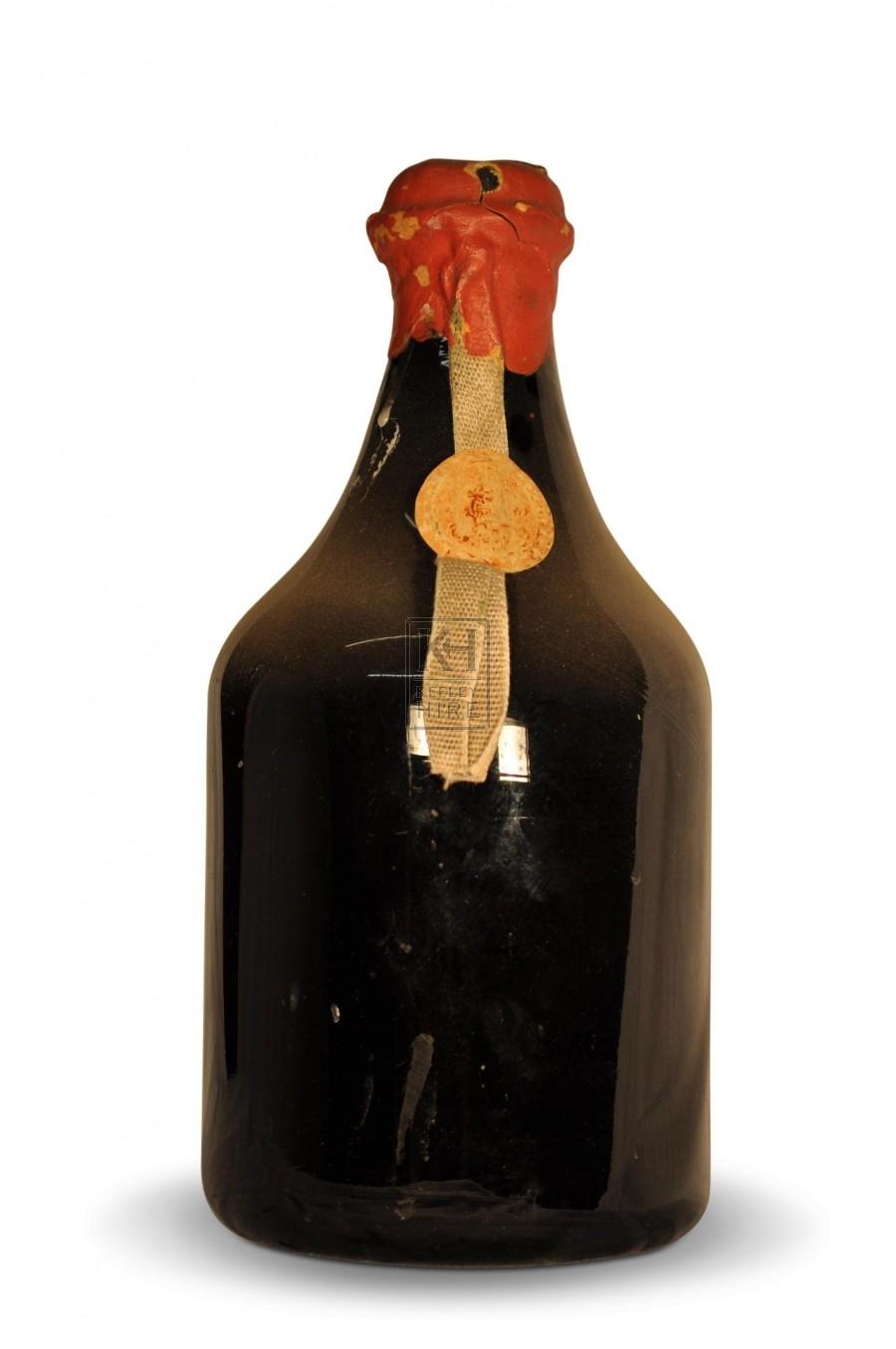 Wax Sealed Glass Bottle