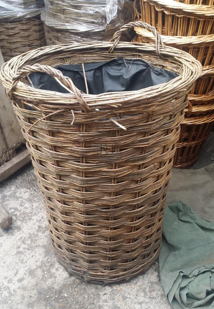 Large Wicker Basket with handles