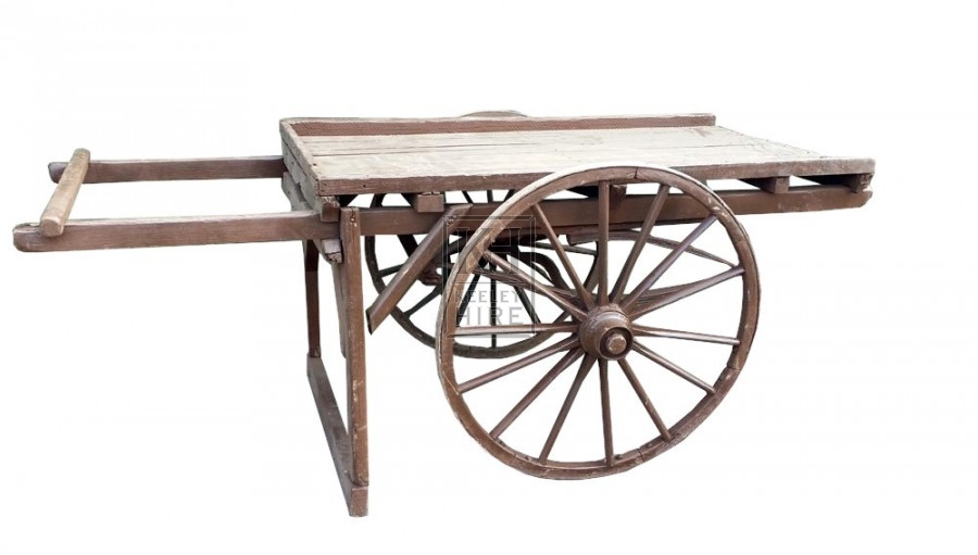 Flat Backed Hand Cart