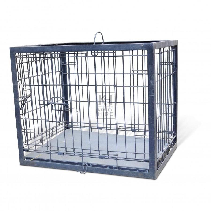 Simple metal cage