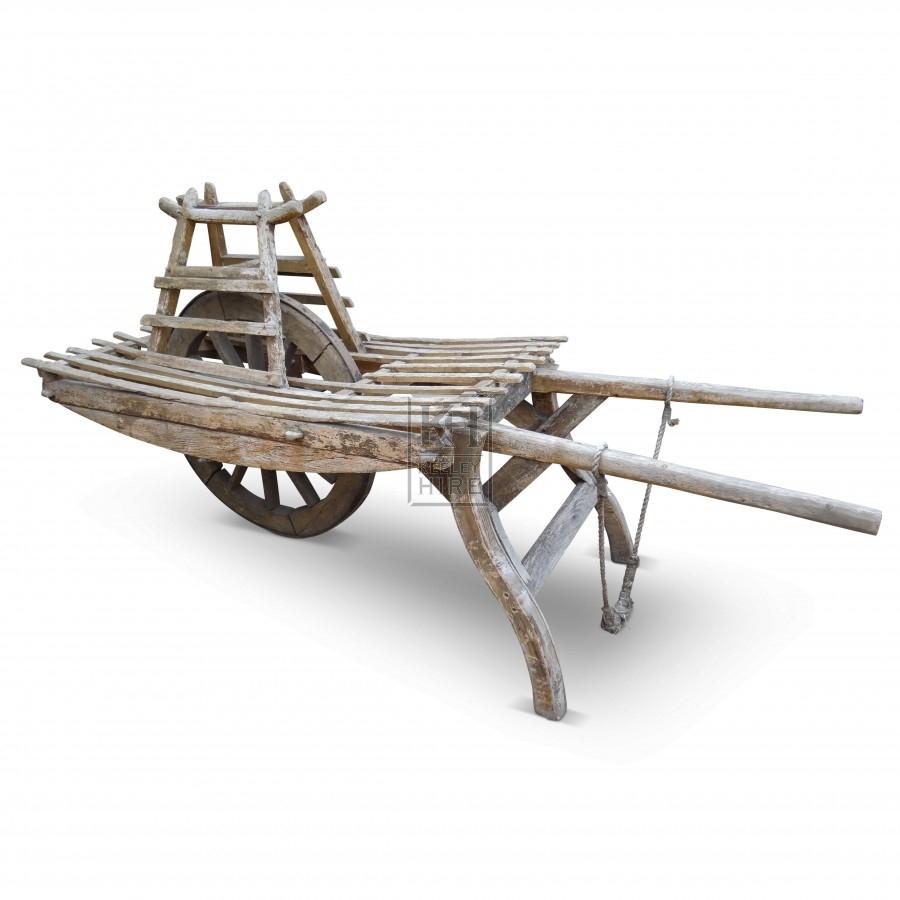 One Wheeled Barrow Cart