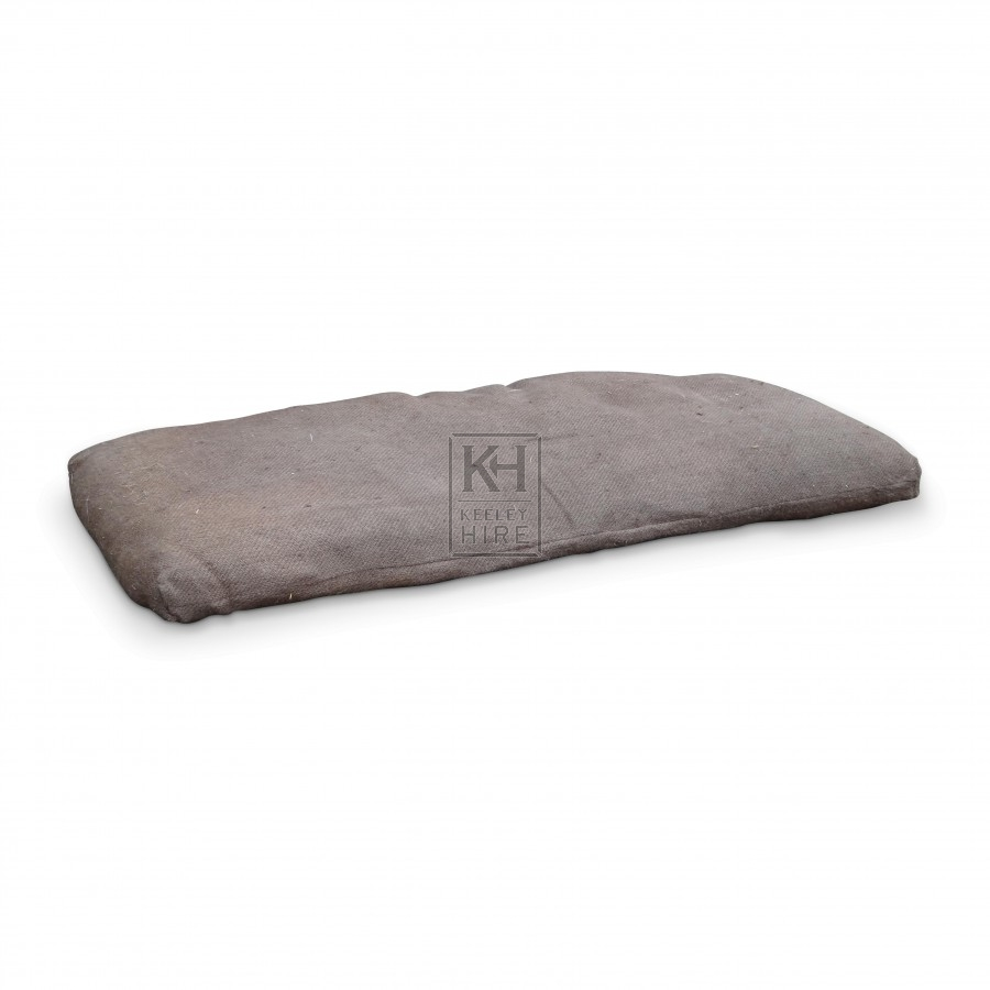 Beds Prop Hire 187 Straw Filled Hessian Palliasse Mattress
