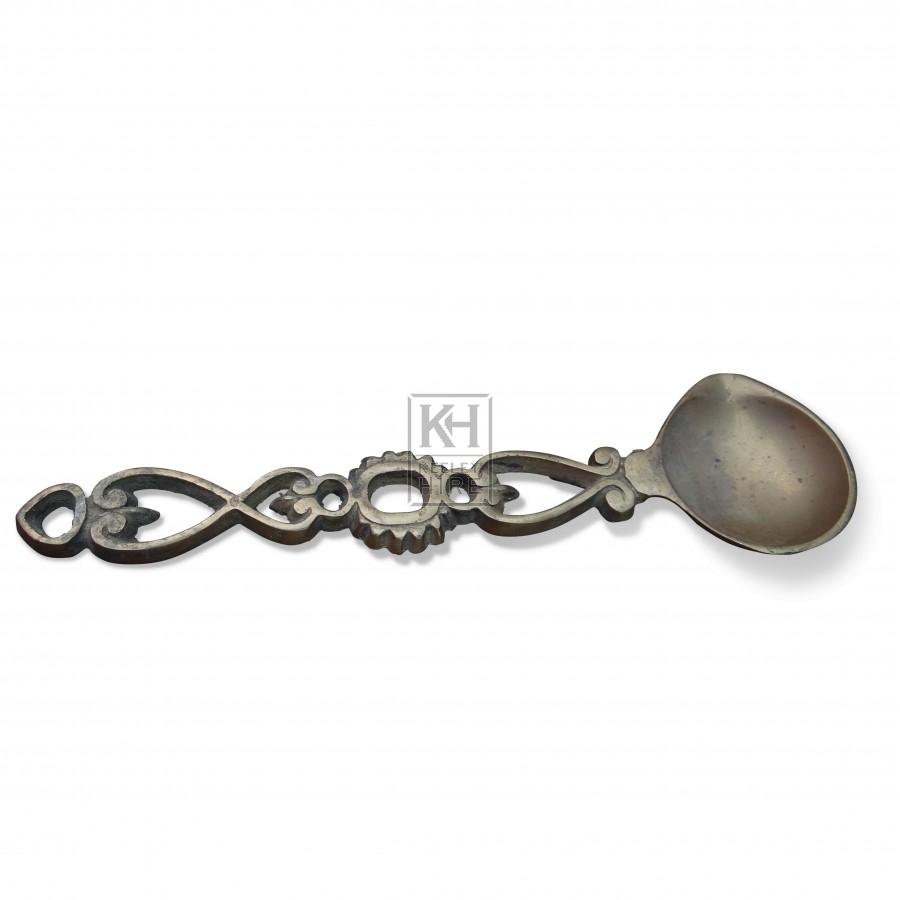 Brass Sealing Wax Spoon