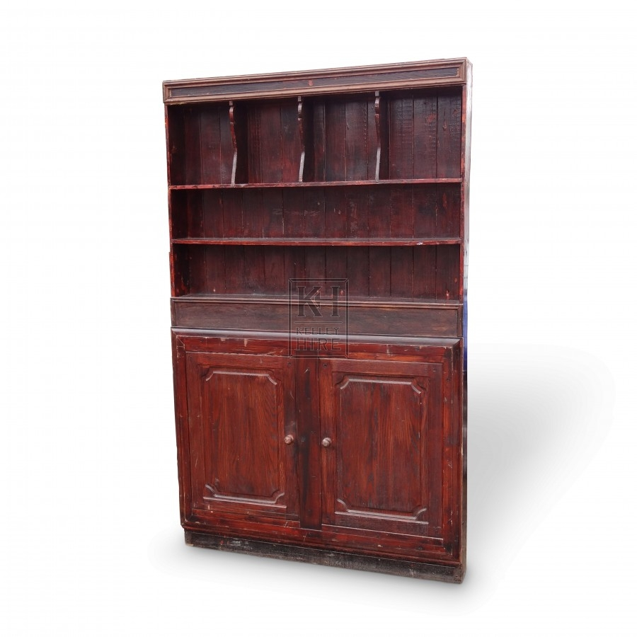 Wooden Dresser Unit with Cupboards