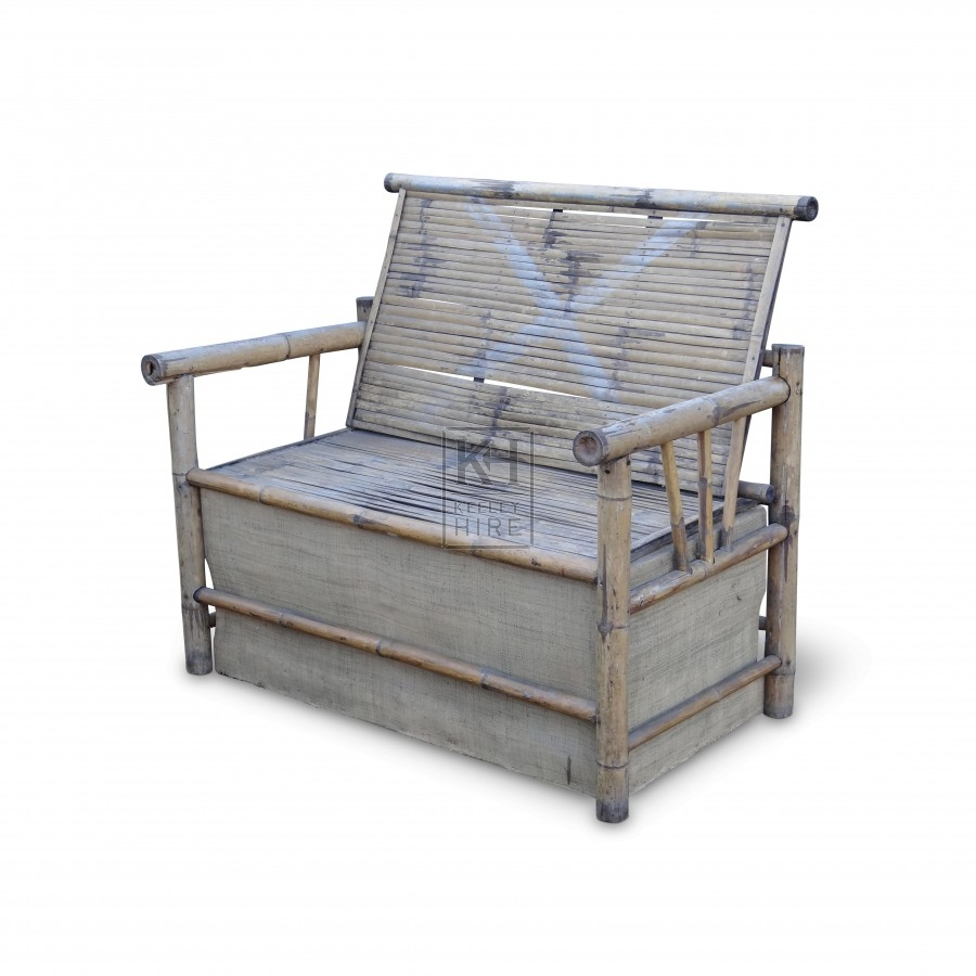 Bamboo Bench Seat