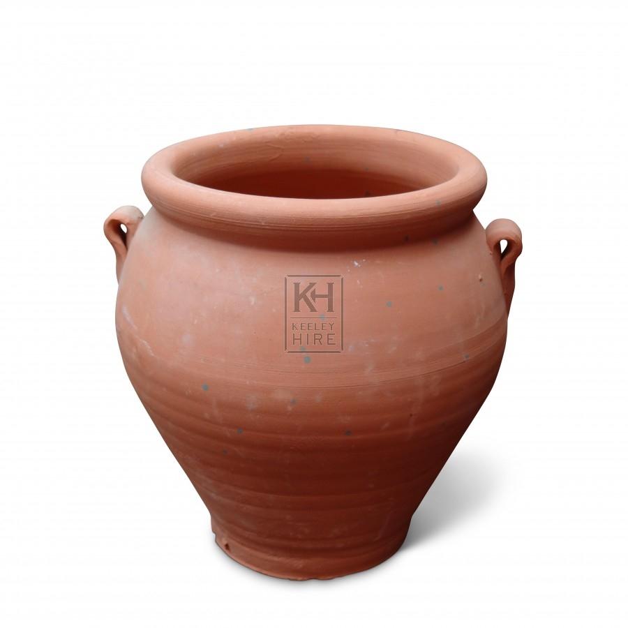 Small Unglazed Clay Pot