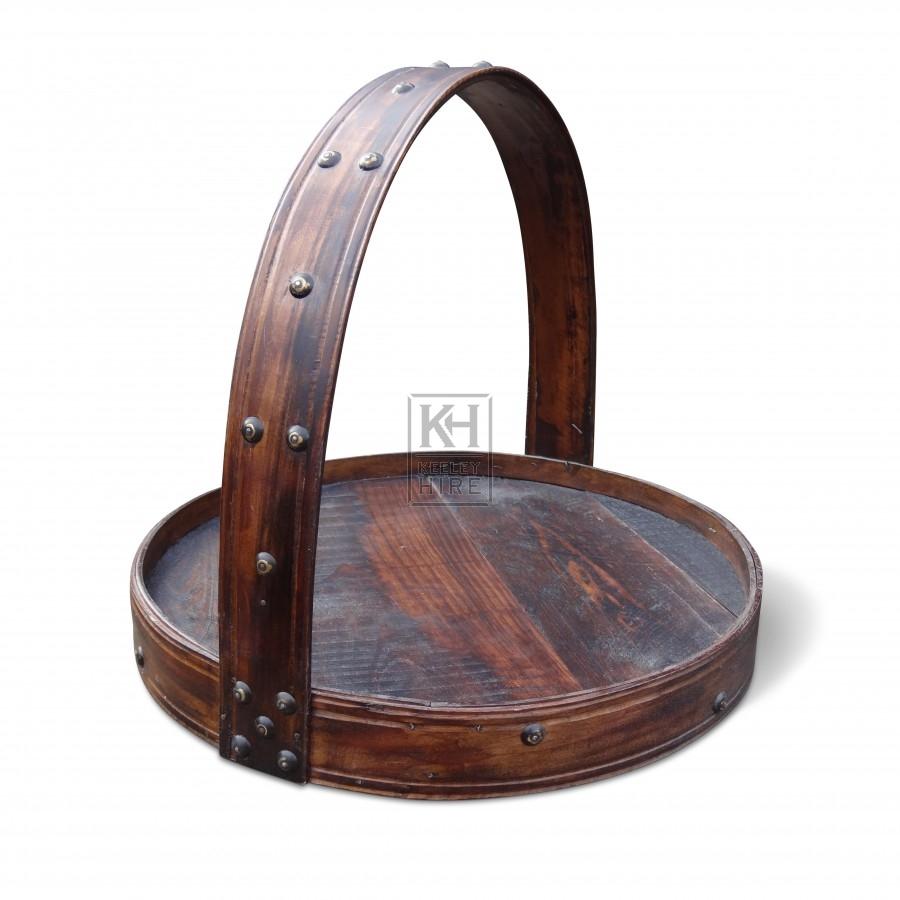 Oriental Flat Tray Basket