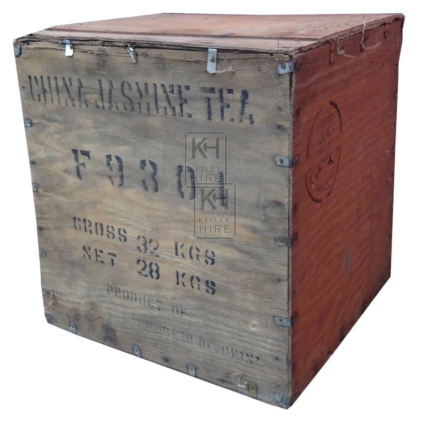 Wooden Tea Chest