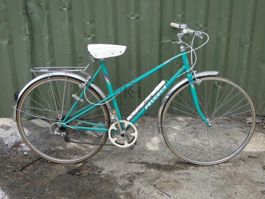 Ladies Turquoise Peugeot Bicycle