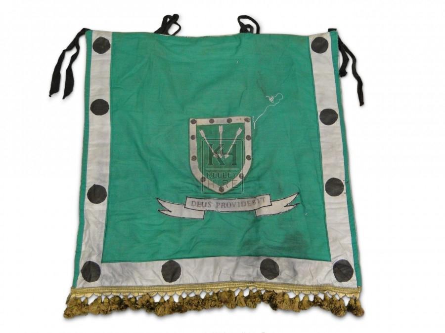 Shield scribed flag