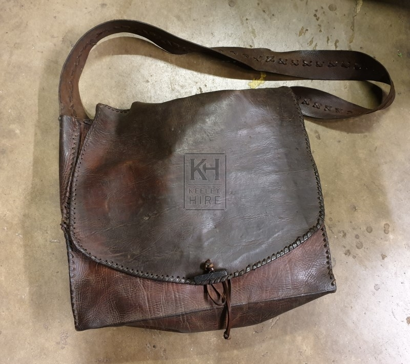 Leather Bag with Strap