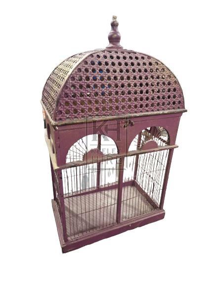 Dome Top Rectangle Birdcage