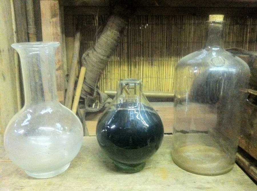 Assorted Large Glassware