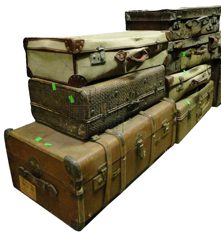 Assorted luggage