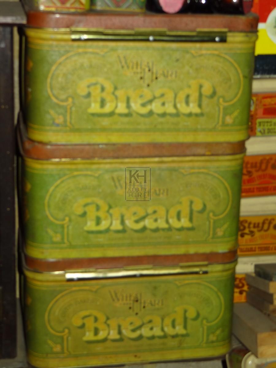 Metal Shop Bread tin