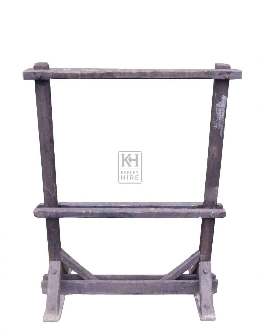 Wood Freestanding Tool Rack