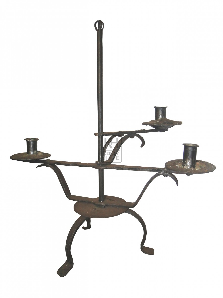 3 Point Adjustable Swing Arm Candlestick