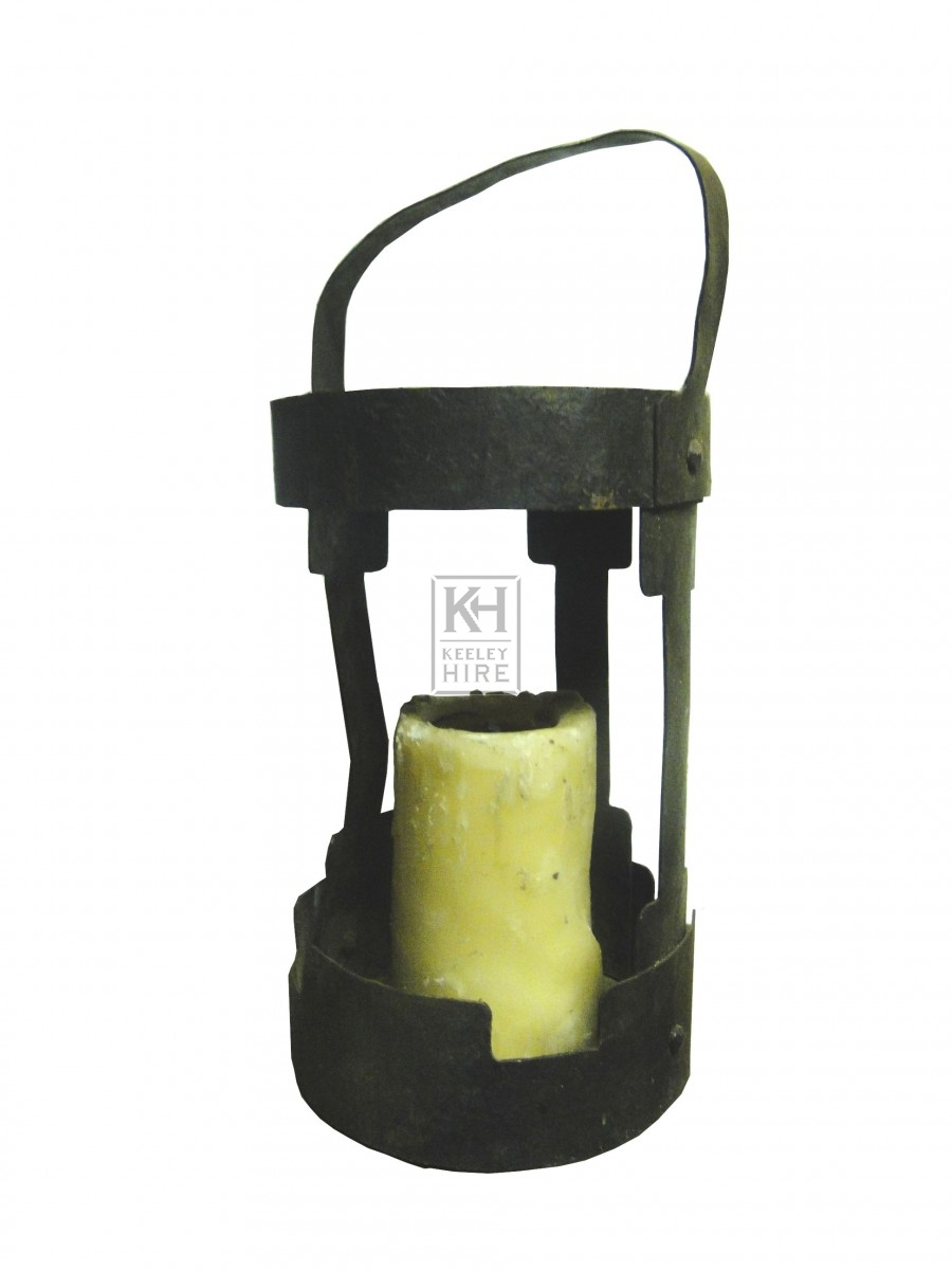 Simple Iron Candle Lantern