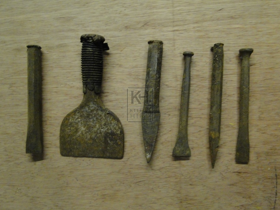 Stonemasons Tools