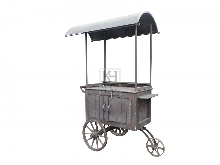 Domed Top Street Trader Cart