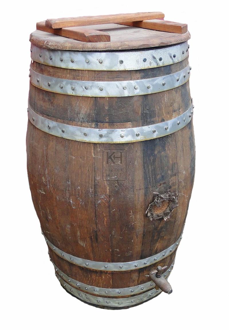 Dark storage barrel