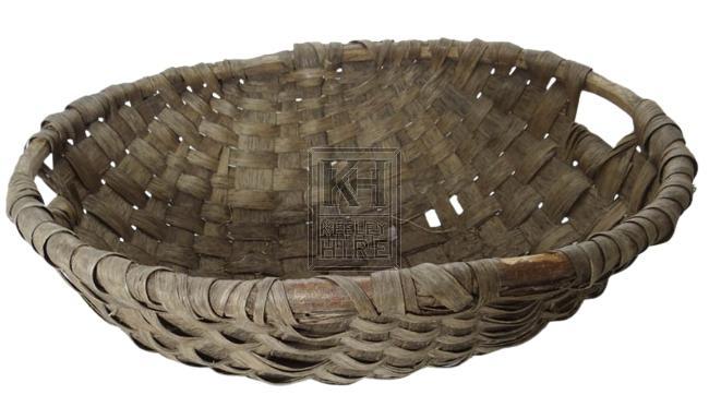 Woven bowl basket
