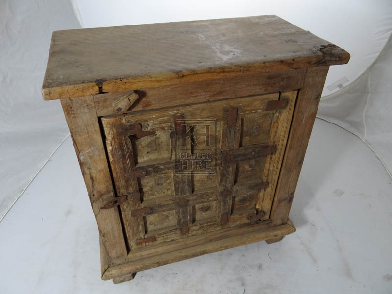 Small wood carved cupboard