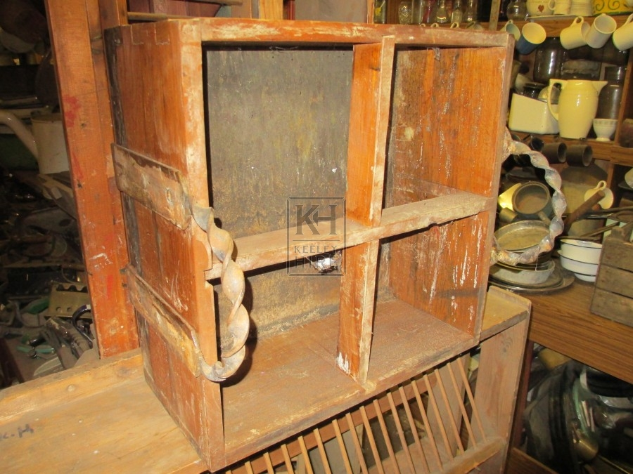 Wooden Compartment Crate