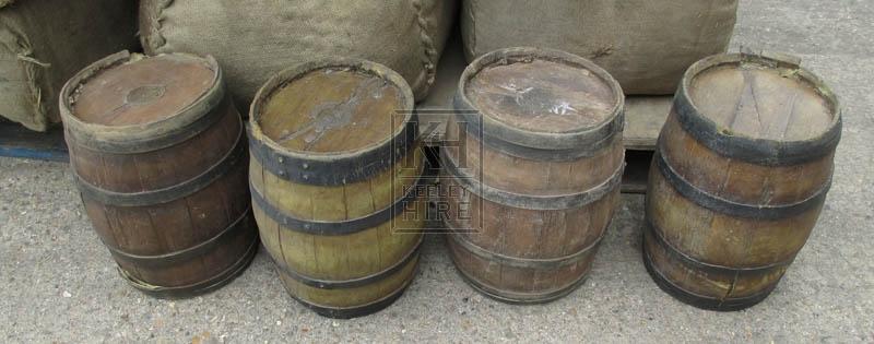 Small rubber barrels