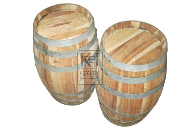 Small Clean Barrel