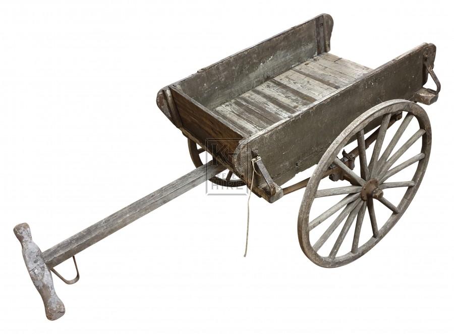 Box 2-wheel cart